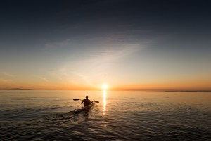 Paddla, kayak
